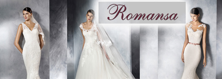 Salon exclusive wedding dress Romansa